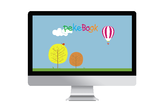 Pekebook en el ordenador
