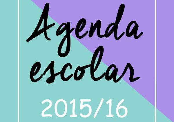agenda escolar infantil